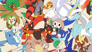 Fan Pokemon hoàn thành bức tranh với 807 Pokemon trên thế giới trong 350 giờ