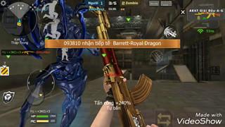 CFL – Cơ hội sở hữu miễn phí AK47-Noble Dragon và Barrett-Noble Dragon không thể bỏ qua
