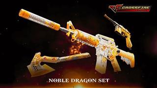Cộng đồng Crossfire Legends khao khát sở hữu set vũ khí Noble Dragon quý tộc