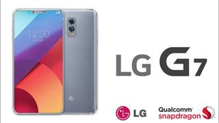 Lộ ảnh render của LG G7: gần như không có viền dưới, camera selfie kép