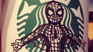 Khi logo của Starbuck được chế ra thành những hình ảnh vô cùng ấn tượng