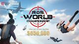 Rules of Survival: Cùng ủng hộ TeamVN trong giải đấu Final RoS World Championship Asia