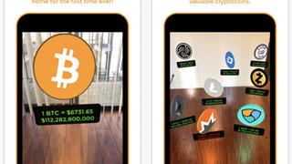 Ứng dụng 'rải' Bitcoin, Ethereum quanh chỗ ngồi để cập nhật giá