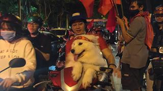 Hình ảnh 14 con Boss sẵn sàng đi bão cỗ vũ cho U23 Việt Nam