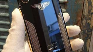 Cùng chiêm ngưỡng chiếc iPhone X phiên bản đặc biệt mạ vàng 18K của Bentley
