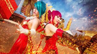 Liên Quân Mobile: Ngắm nhìn bộ ảnh cosplay Natalya và Violet cực rực rỡ trong ngày đầu năm mới