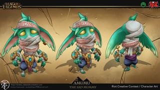 LMHT: Xuất hiện ý tưởng cập nhật ngoại hình cực đẹp dành cho Amumu