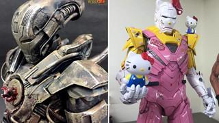 """""""Lạc trôi"""" với những bộ giáp Iron Man phong cách...quái vật cực bá đạo"""