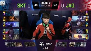 LMHT: SKT T1 hủy diện JAG, nuôi hi vọng tiến vào top 5