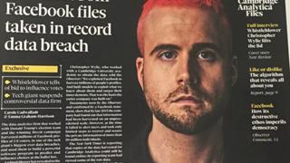Gặp mặt người vạch trần vụ rò rỉ dữ liệu của 50 triệu người dùng Facebook