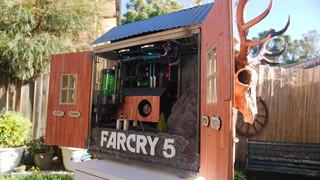 """Kinh ngạc với cỗ PC """"hàng khủng"""" được độ theo phong cách Far Cry 5"""