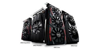 Chiêm ngưỡng dàn card đồ họa chơi game mới AREZ chỉ sử dụng GPU AMD đến từ ASUS