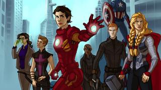 """Sẽ như thế nào khi những anh hùng Marvel hóa thành """"nữ nhi"""""""