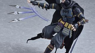 Chiêm ngưỡng mô hình Batman trong trang phục Samurai siêu ngầu và đẹp không tì vết
