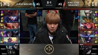MSI 2018 - Đại thắng trước Flash Wolves, Kingzone hiên ngang tiến vào chung kết MSI