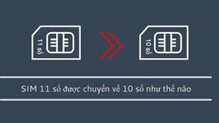 Thủ thuật trên Android và IOS giúp đổi cực nhanh danh bạ sim 11 số thành 10 số Vietel, Vinaphone và Mobifone rất tiện lợi