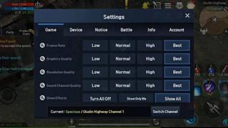 Lineage 2 Revolution: Hé lộ cấu hình đề nghị khá nhẹ và cách tối ưu hóa game để giảm giật lag