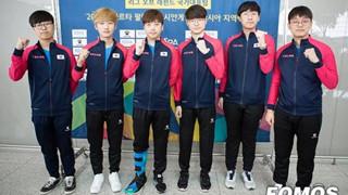 LMHT: Đội tuyển đại diện Hàn Quốc lên đường đến Asian Games 2018, diện đồng phục mới cực chất