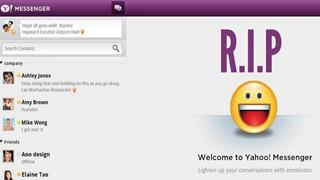 Yahoo Messenger sẽ chính thức bị khai tử vào giữa tháng 7 này