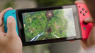 Fortnite đã lên sóng Nintendo Switch
