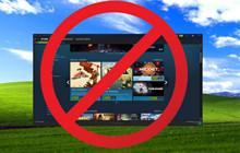 Tin buồn: Steam chính thức ngừng hỗ trợ cho Windows XP và Vista