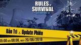 Rules of Survival: Chi tiết bản cập nhật ngày 20/06 - Trải nghiệm bắn nghiêng người và thay đạn mới
