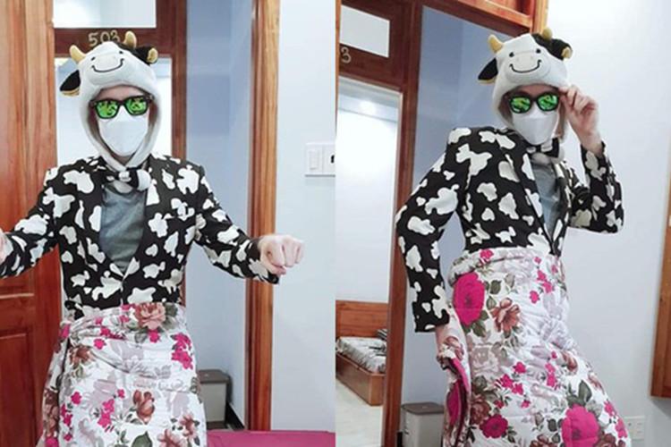 Cowsep vừa xuống Việt Nam đã ngay lập tức Cosplay thành Ninja Lead khiến cho Fan 1 phen vỡ mật