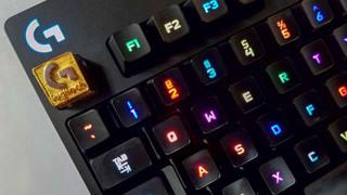 Xuất hiện mẫu keycap dành cho bàn phím Logitech G mới toanh, mạ vàng cực sang