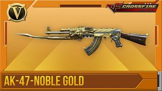 CFL: Cận cảnh bộ đôi AK47 Noble Gold và M4A1 S Noble Gold được xạ thủ tích cực săn đón