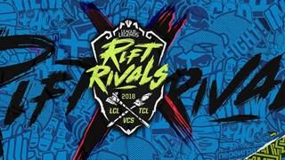 VCS thất bại lớn tại Rift Rivals 2018, GAM và EVOS phải dừng chân sớm với vị trí cuối bảng.