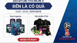 [Giveaway] Lag.vn gửi tặng game thủ 15 Vé Mời Offline FIFA Online 4 cùng xem World Cup 2018 cực khủng