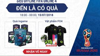 XEM TRẬN CHUNG KẾT WORLD CUP 2018 CÙNG FIFA ONLINE 4