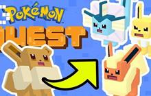 Pokemon Quest: Mẹo để kiểm soát sự tiến hóa của Eevee