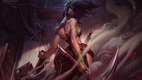 LMHT - Lộ diện bộ kỹ năng của Akali được rework lại, cơ động đến đáng sợ !!