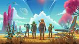 No Man's Sky tiếp tục lột xác với bản cập nhật NEXT, hé lộ multiplayer