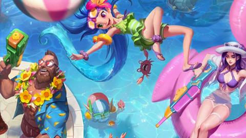 Mùa hè đã đến, Liên Minh Huyền Thoại lại tiếp tục chuẩn bị cho Đại Tiệc Bể Bơi