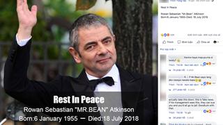Còn khỏe mạnh nhưng Mr Bean - Rowan Atkinson lại bị trù là tai nạn qua đơi trong ngày 18 tháng 7 vừa qua