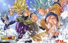 Hé lộ thêm những thiết kế của Broly và Paragus trong movie Dragon Ball Super: Broly