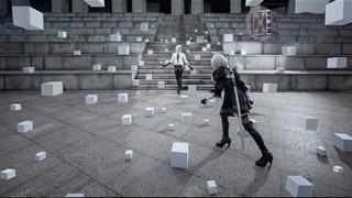 Bộ ảnh Cosplay Nier Automata đỉnh cao với màn đánh boss siêu ảo diệu