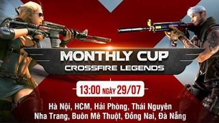 Cuối tuần sôi động với CFL Monthly Cup tại 8 tỉnh thành trên cả nước