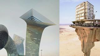Tổng hợp những công trình kiến trúc có kết cấu y như đến từ trong thế giới trò chơi