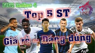 FIFA Online 4: Top 5 tiền đạo cắm giá rẻ mà tốt nhất mùa 17