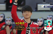 Faker là 1 trong 3 Vận động viên được cả Hàn Quốc kì vọng nhất tại ASIAN Games 2018