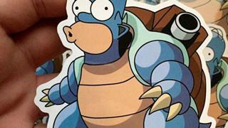 Sẽ như thế nào khi mà những nhân vật trong The Simpsons hóa thân thành Pokemon