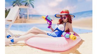 LMHT: Ngắm nhìn Miss Fortune Tiệc Bể Bơi vô cùng gợi khiến game thủ không thể nào rời mắt