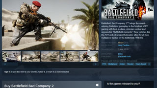 Tựa game bom tấn Battlefield Bad Company 2 khuyến mãi với giá cực rẻ, game thủ nên mua ngay kẻo tiếc hùi hụi