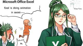 Sẽ như thế nào khi những phần mềm khô khan trên máy tính hóa thân thành những nhân vật Anime xinh đẹp cực kì