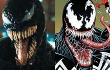Phim Venom sẽ thay đổi nguồn gốc xuất thân của nhân vật như thế nào?