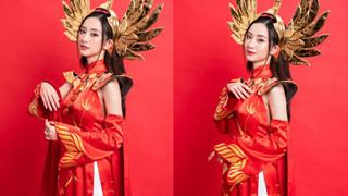 Jun Vũ xinh đẹp rạng ngời trong bộ cosplay llumia Thiên nữ Áo Dài của Liên Quân Mobile