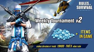 ROS: Cùng nhau rinh vô vàn kim cương khi tham dự Weekly Tournament vào 19h ngày 18/10